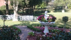 The beautiful grounds of Bella Vista Wedding and Function Center, Mayfield